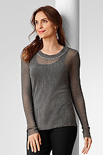 Cotton Mesh Tee by Cynthia Ashby (Mesh Top)