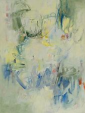 Belated Spring I by Karen Scharer (Oil Painting)