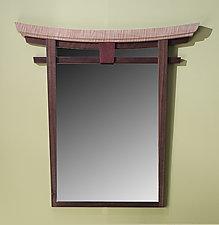 Torii Mirror by Bayley Wharton (Wood Mirror)