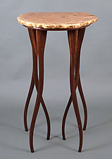 Happy Feet by Bill Palmer (Wood Pedestal Table)