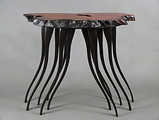 Redwood Leg-acy by Bill Palmer (Wood Console Table)