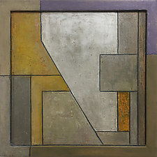FrameWorks Squared Eight by Stephen Cimini (Oil Painting)