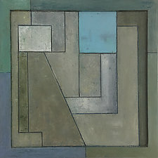 FrameWorks Squared Ten by Stephen Cimini (Oil Painting)