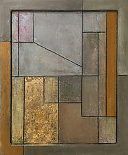 FrameWorks Deconstruction Study Two by Stephen Cimini (Oil Painting)