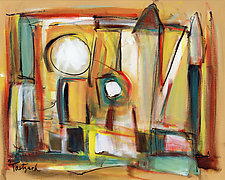 Hearth and Home by Lynne Taetzsch (Acrylic Painting)
