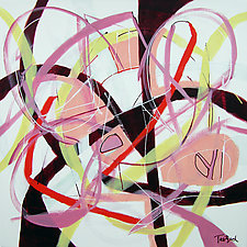 Hi-Wire Dance by Lynne Taetzsch (Acrylic Painting)