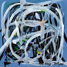 Inside Blue by Lynne Taetzsch (Acrylic Painting)