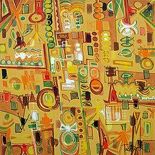 Modern Art IV by Lynne Taetzsch (Acrylic Painting)