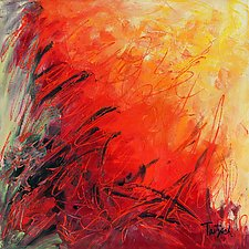 Abstract Art Twenty-Eight by Lynne Taetzsch (Acrylic Painting)