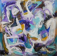 Abstract Expressionism Five by Lynne Taetzsch (Acrylic Painting)