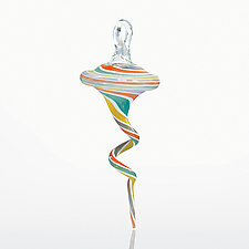 Saltwater Taffy by Jason  Probstein (Art Glass Ornament)