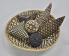 Small Sensory Bowl by Kelly Jean Ohl (Ceramic Bowl)