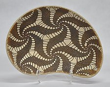 Catch Me If You Can Pattern Ceramic Bowl by Kelly Jean Ohl (Ceramic Bowl)
