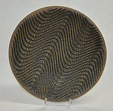 Rhythmic Platter by Kelly Jean Ohl (Ceramic Bowl)