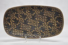 Autumnal Ceramic Bowl by Kelly Jean Ohl (Ceramic Bowl)