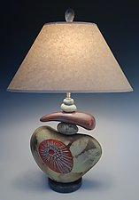 Fireworks by Jan Jacque (Ceramic Table Lamp)