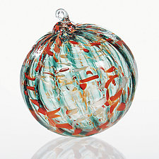Life Aquatic by Brian Lockwood (Art Glass Ornament)