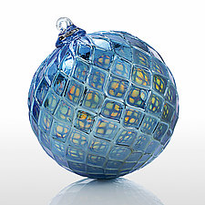 Night Fever by Brian Lockwood (Art Glass Ornament)