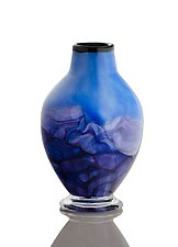 Purple Mountain Majesty by The Glass Forge (Art Glass Vase)