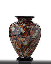 ET Laura Vase by The Glass Forge (Art Glass Vase)