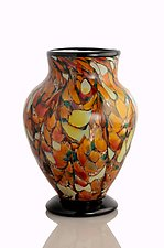 Southwestern Vase by The Glass Forge (Art Glass Vase)