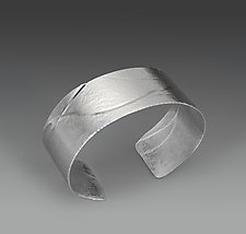 Calm Waters by Lonna Keller (Silver Bracelet)