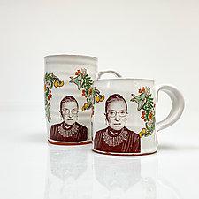 RBG Mug by Justin Rothshank (Ceramic Mug)