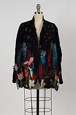 Night Garden Jacket by Barbara Poole (Silk & Wool Jacket)