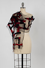 Maze Scarf by Barbara Poole (Silk & Wool Scarf)