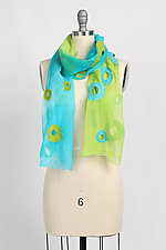 Chiffon Holey Scarf by Barbara Poole (Silk & Wool Scarf)