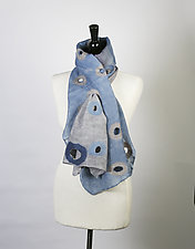Merino Holey Scarf by Barbara Poole (Wool Scarf)