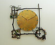 All in Good Time by Mary Ann Owen and Malcolm  Owen (Metal Clock)