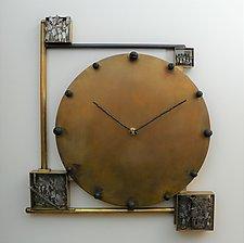 The Archives of Memory by Mary Ann Owen and Malcolm  Owen (Metal Clock)