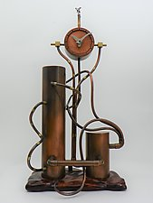 Camel Astride Time by Mary Ann Owen and Malcolm  Owen (Metal Clock)