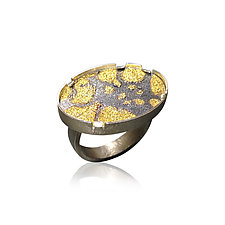 Matrix Ring by Jenny Reeves (Gold & Silver Ring)