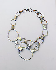 Organica Necklace by Jennifer Bauser (Silver Necklace)
