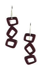 Moderna #7 Earrings by Jennifer Bauser (Bronze Earrings)