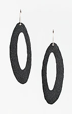 Moderna #20 Gray Earrings by Jennifer Bauser (Bronze Earrings)