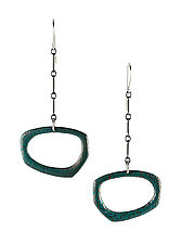 Moderna #9 Earrings by Jennifer Bauser (Bronze Earrings)
