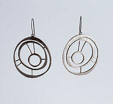 Goddess Earrings #5 by Jennifer Bauser (Silver Earrings)