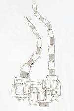 Organica Necklace #5 by Jennifer Bauser (Silver Necklace)