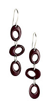 Moderna #11 Earrings by Jennifer Bauser (Bronze Earrings)