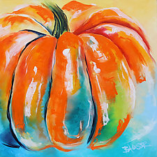 Pumpkin No.9 by Jennifer Bauser (Oil Painting)