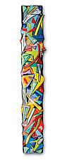 Kaleidoscope by Helen Rudy (Art Glass Wall Sculpture)