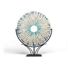 Atoll 3 by Helen Rudy (Art Glass Sculpture)
