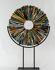 Starburst by Helen Rudy  (Art Glass Sculpture)