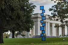 The Tower by Helen Rudy (Art Glass Sculpture)