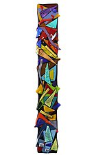 Kaleidoscope by Helen Rudy  (Art Glass Wall Sculpture)