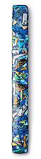 Ice Melt Swizzlestick by Helen Rudy (Art Glass Wall Sculpture)