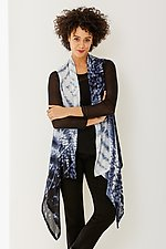 Willow Vest by Michael Kane (Shibori Vest)